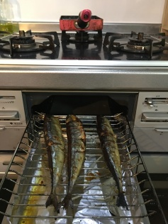 Japanese Fish Grill in Oven